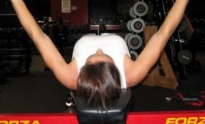 Bench Press Technique: Shoulders Pulled Back