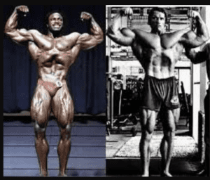 Lee Haney vs. Arnold Leg Development