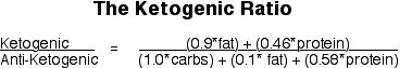 The Ketogenic Ratio