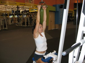 Parallel Grip Lat Pulldown Start