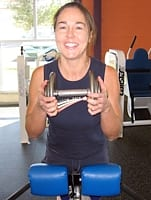 Back Extension Technique: Dumbbell Held to Chest