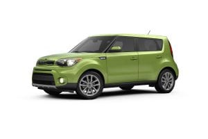 Lime Green Kia Soul