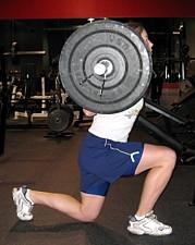 Split Squat Bottom Position