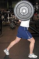 Split Squat Start Position