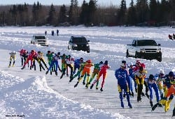 Canal Ice Speed Skating