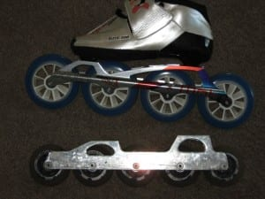 Inline Skates with 100mm Wheels