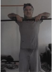 Bodybuilder Style Upright Row