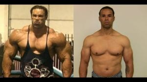Kevin Levrone On and Off Anabolic Steroids
