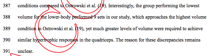 Ostrowski Quad Discussion