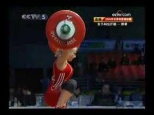 Female Olympic Lifter Glute Development